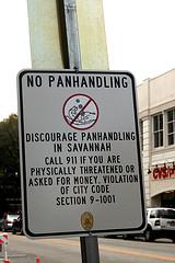No Panhandling
